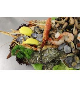 fruits de mer-zeevruchtenschotel