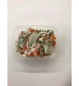 Huisbereide  haringsalade (200 gram)
